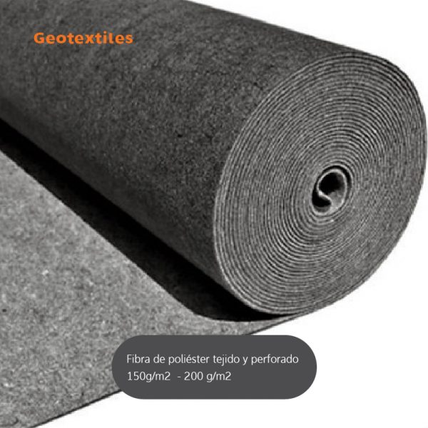 geotextil fibra poliester